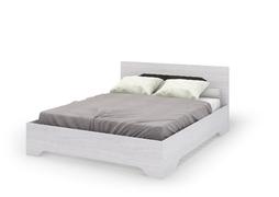 Кровать 1,4 с ортопедическим основанием Валенсия КР 011 дуб анкор светлый